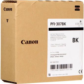 Originálna cartridge Canon PFI-307BK (Čierna)