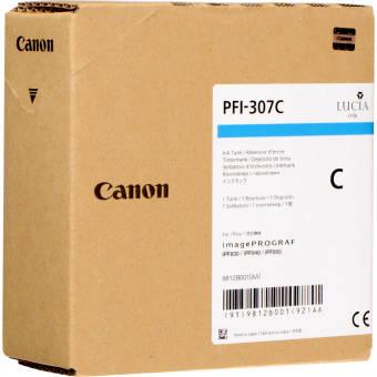 Originálna cartridge Canon PFI-307C (Azúrová)