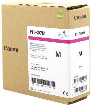 Originálna cartridge Canon PFI-307M (Purpurová)