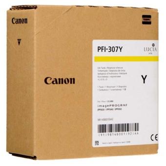 Originálna cartridge Canon PFI-307Y (Žltá)