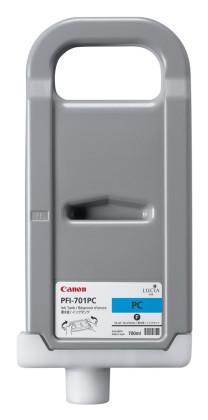 Originálná cartridge Canon PFI-701PC (Foto azúrová)