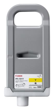 Originálná cartridge Canon PFI-701Y (Žltá)