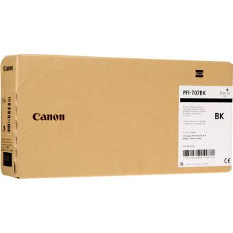 Originálna cartridge Canon PFI-707BK (Čierna)