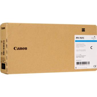 Originálna cartridge Canon PFI-707C (Azúrová)