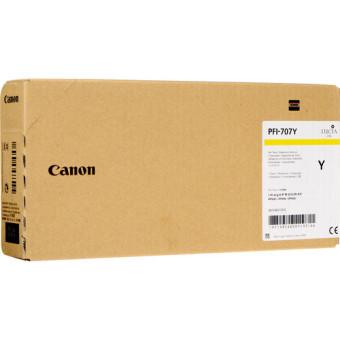 Originálna cartridge Canon PFI-707Y (Žltá)