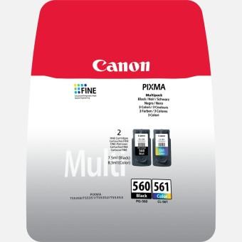 Originálna sada cartridge Canon PG-560/CL-561(Čierna, farevná)