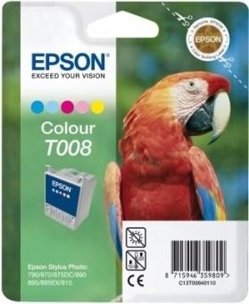 Originálna cartridge EPSON T008 (Farebná)