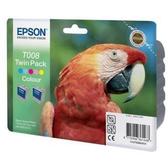 Sada originálných cartridge EPSON T008 (Farebná)