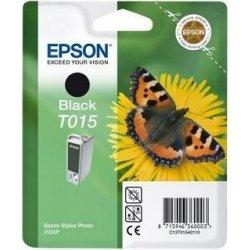 Originálna cartridge EPSON T015 (Čierna)