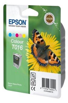 Originálna cartridge EPSON T016 (Farebná)