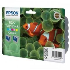 Sada originálných cartridge EPSON T027 (Farebná)