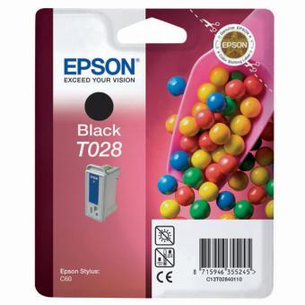 Originálna cartridge EPSON T028 (Čierna)