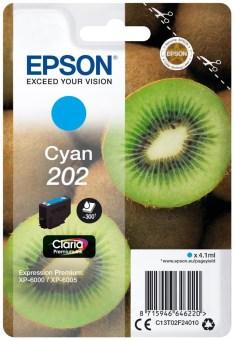 Originálna cartridge EPSON č. 202 (T02F2) (Azúrová)