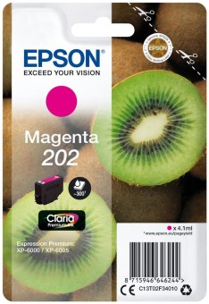 Originálna cartridge EPSON č. 202 (T02F3) (Purpurová)