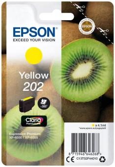 Originálna cartridge EPSON č. 202 (T02F4) (Žltá)