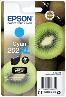 Originálná cartridge EPSON č. 202 XL (T02H2) (Azúrová)