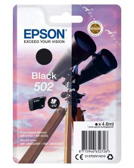 Originálna cartridge Epson 502 BK (T02V1) (Čierna)