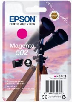 Originálna cartridge Epson 502 M (T02V3) (Purpurová)