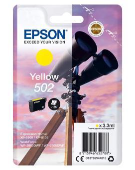 Originálna cartridge Epson 502 Y (T02V4) (Žltá)