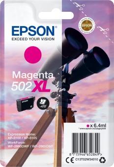 Originálna cartridge Epson 502 XL M (T02W3) (Purpurová)