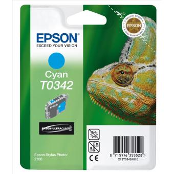 Originálna cartridge EPSON T0342 (Azúrová)