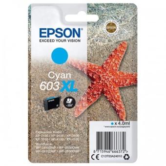 Originálna cartridge EPSON č. 603 XL (T03A2) (Azúrová)