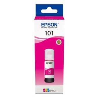 Originálna fľaša s atramentom Epson č. 101 (C13T03V34A) (Purpurová)