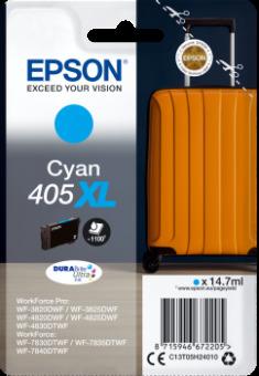 Originálná cartridge EPSON č. 405 XL (T05H2) (Azúrová)