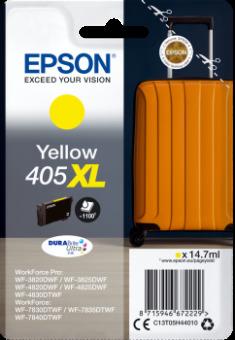 Originálná cartridge EPSON č. 405 XL (T05H4) (Žltá)