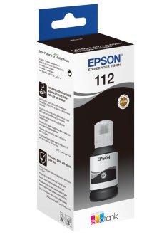 Originálna fľaša Epson 112 BK (C13T06C14A) (Čierna)