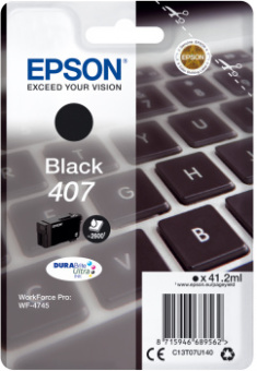 Originálná cartridge EPSON č. 407 (T07U1) (Čierna)