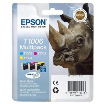 Sada originálných cartridge EPSON T1006 - obsahuje T1002-T1004