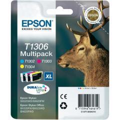 Sada originálných cartridge EPSON T1306 - obsahuje T1302-T1304