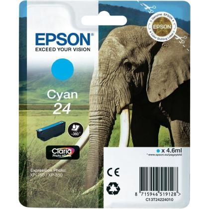 Originálna cartridge EPSON T2422 (Azúrová)