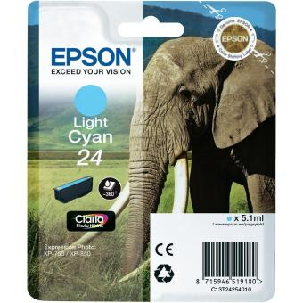 Originálna cartridge EPSON T2425 (Svetlá azúrová)