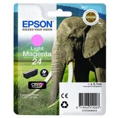 Cartridge do tiskárny Originálna cartridge EPSON T2426 (Svetlá purpurová)