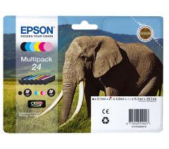 Sada originálných cartridge EPSON T2428 - obsahuje T2421-T2426