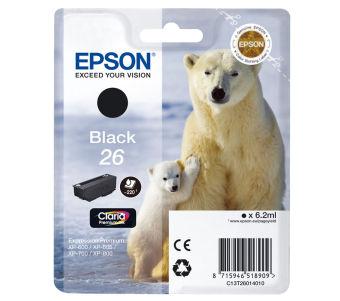 Originálna cartridge EPSON T2601 (Čierna)