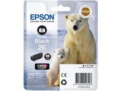 Cartridge do tiskárny Originálna cartridge EPSON T2611 (Foto čierna)