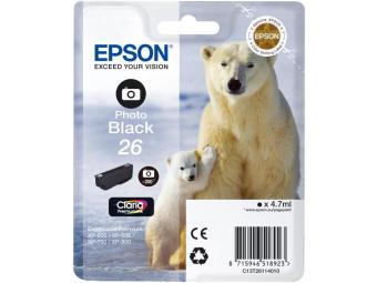 Originálna cartridge EPSON T2611 (Foto čierna)