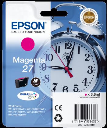 Originálna cartridge EPSON T2703 (Purpurová)