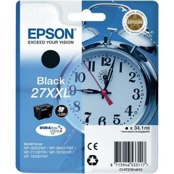 Originálna cartridge EPSON T2791 (Čierna)