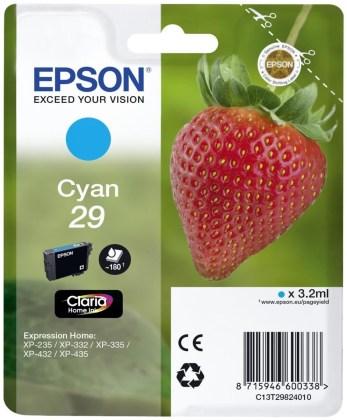 Originálna cartridge EPSON T2982 (Azúrová)