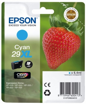 Originálna cartridge EPSON T2992 (Azúrová)
