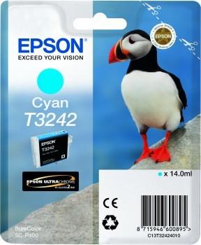 Originálna cartridge EPSON T3242 (Azúrová)