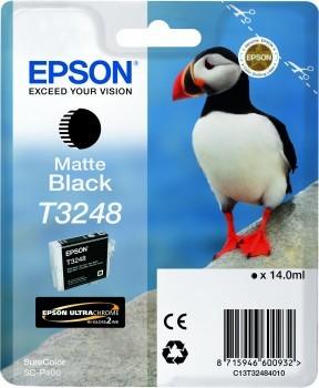 Originálna cartridge Epson T3248 (Matne čierna)