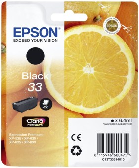 Originálna cartridge EPSON T3331 (Čierna)