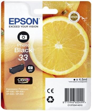 Originálna cartridge Epson T3341 (Foto čierna)