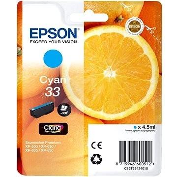 Originálna cartridge EPSON T3342 (Azúrová)
