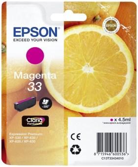 Originálna cartridge EPSON T3343 (Purpurová)